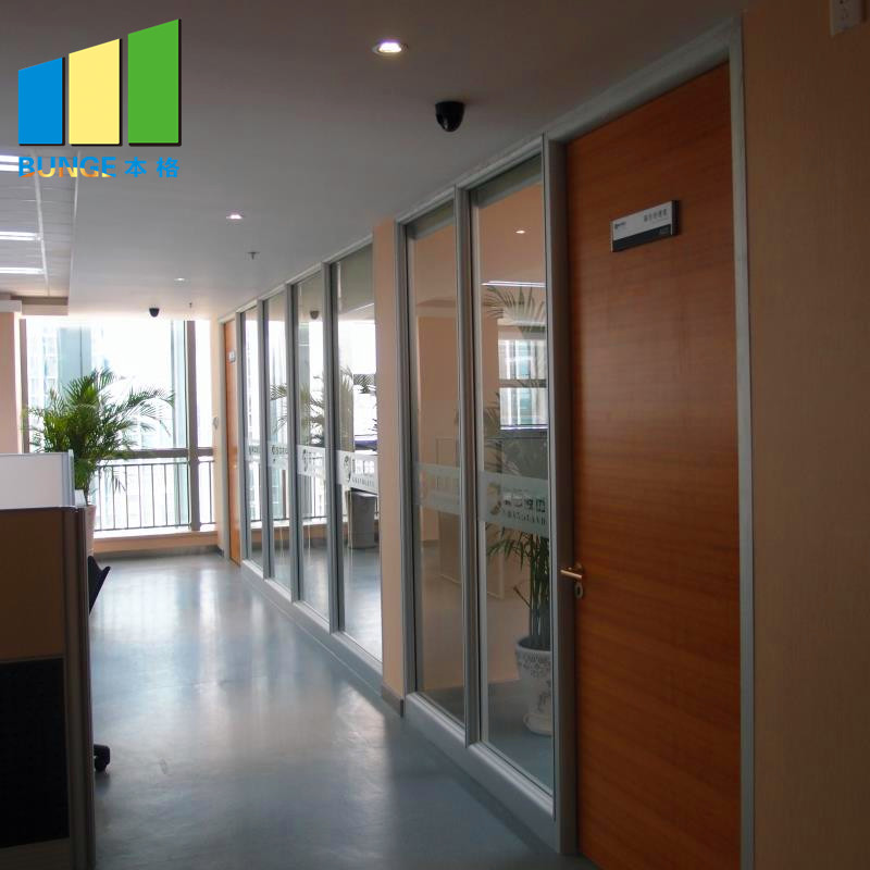 Bunge-Find Glass Partition Modern Design Modular Fixed Office Glass Partition