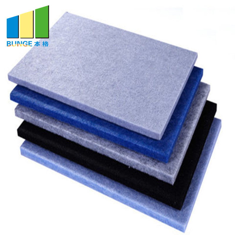 Sound Absorption Material Studio Room Polyester Fiber Acoustic Panel