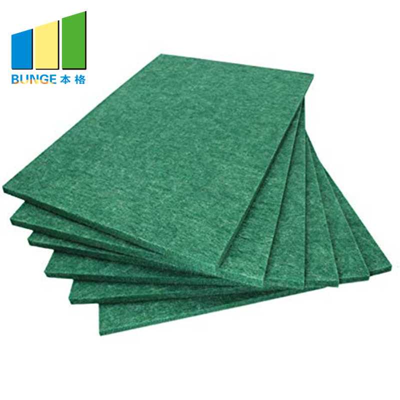 Sound Insulation Pet Polyester Fiber Acoustic Panel for Auditorium