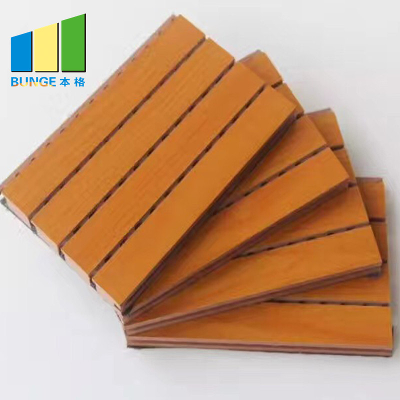 Sound Reflective Board Decorative Ceiling Grooved Acoustic Panel