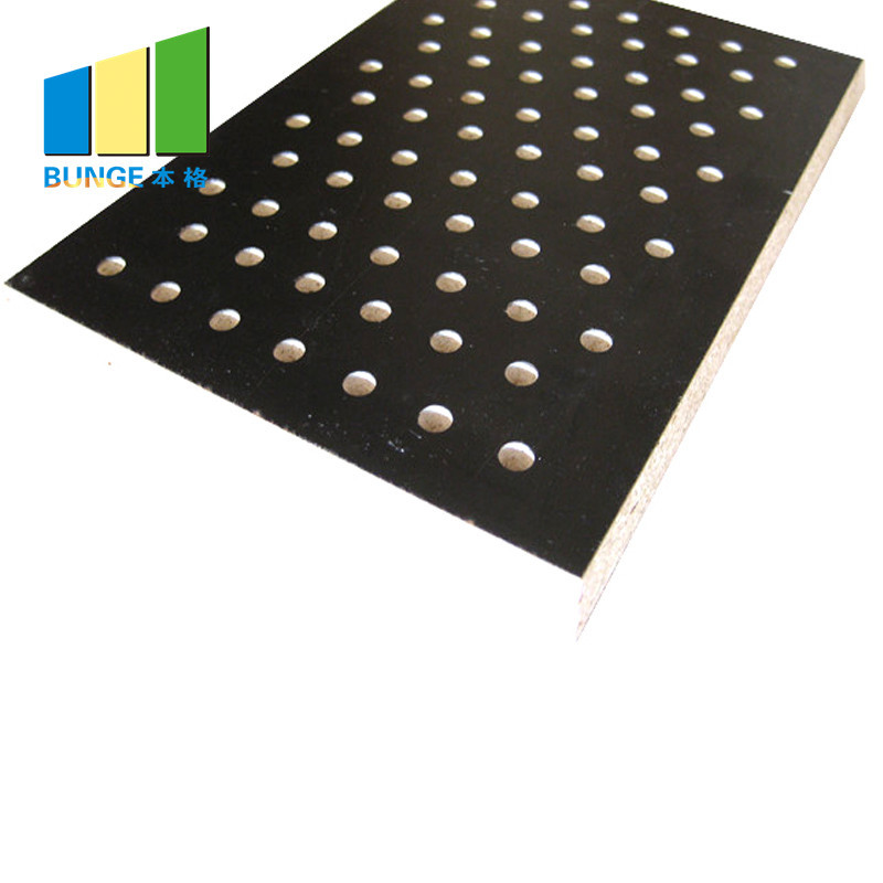 Wood Panel Board Multi Function Room Perforated Acoustic Panel