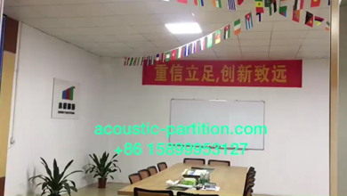 BUNGE PARTITION SHOWROOM