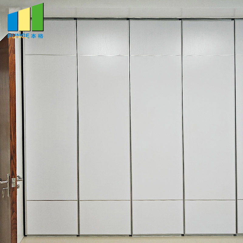 Aluminum Wooden Soundproof Folding Partitions for Classroom