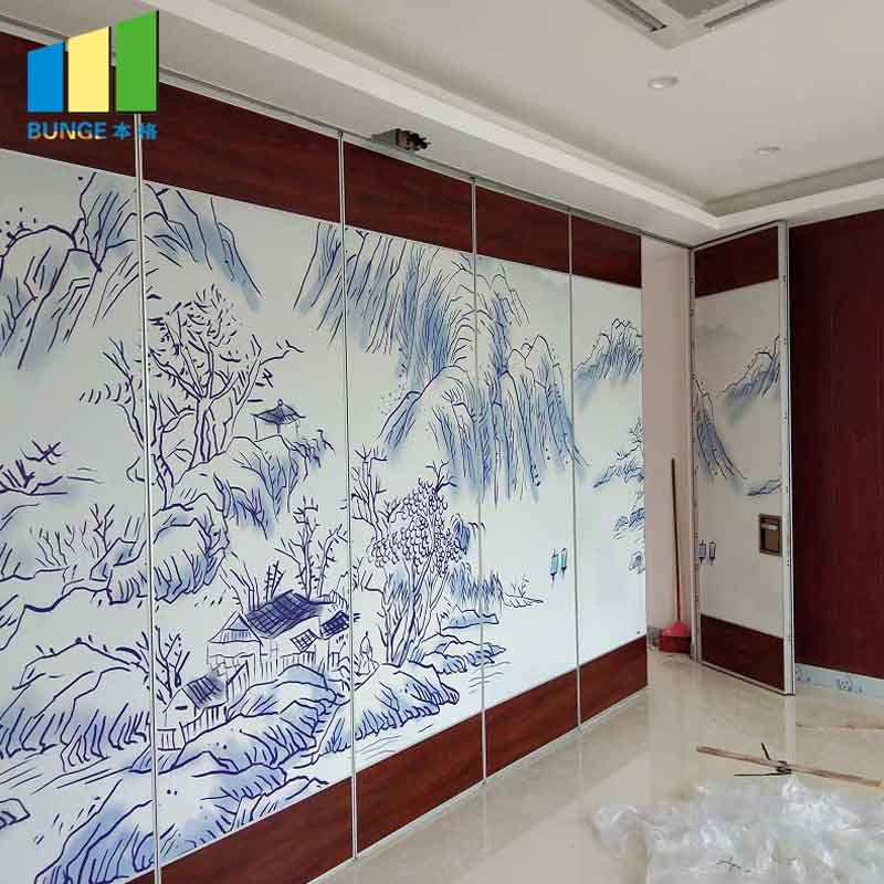 85 mm Type Movable Sound Proof Partition Walls for Banquet Hall