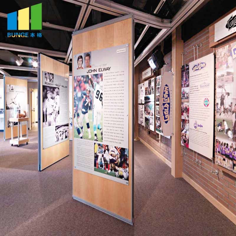 Lightweight Acoustic Folding Wall Partitions,Operable Exhibition Partition Walls