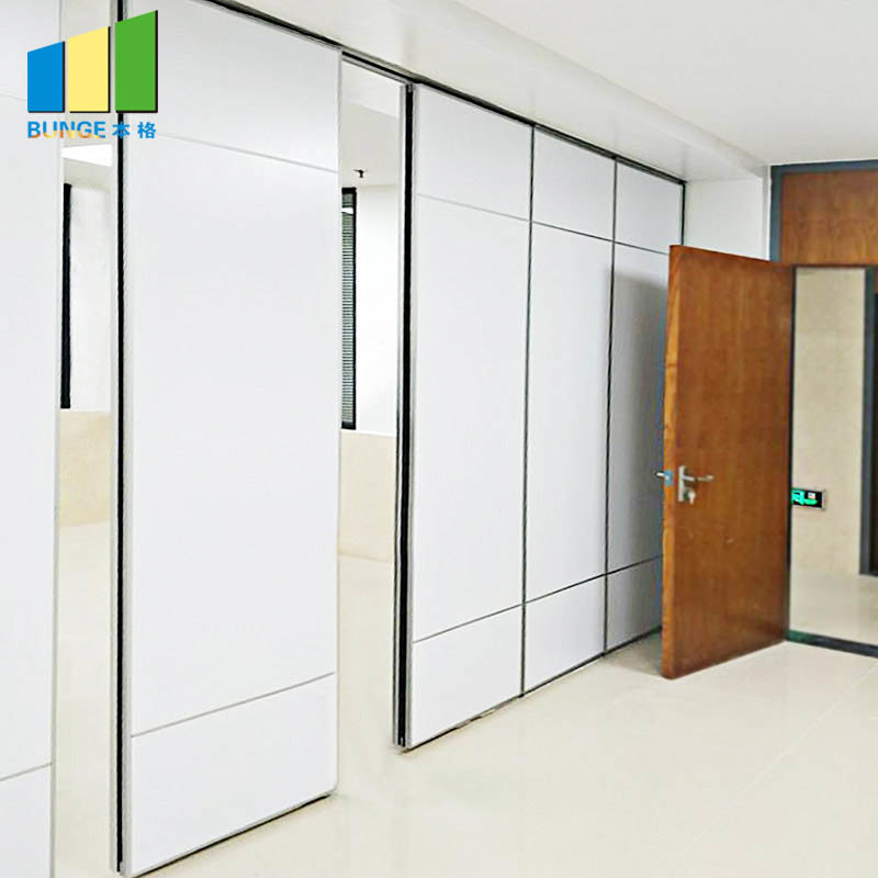 Wooden Acoustic Operable Walls Conference Room Partitions