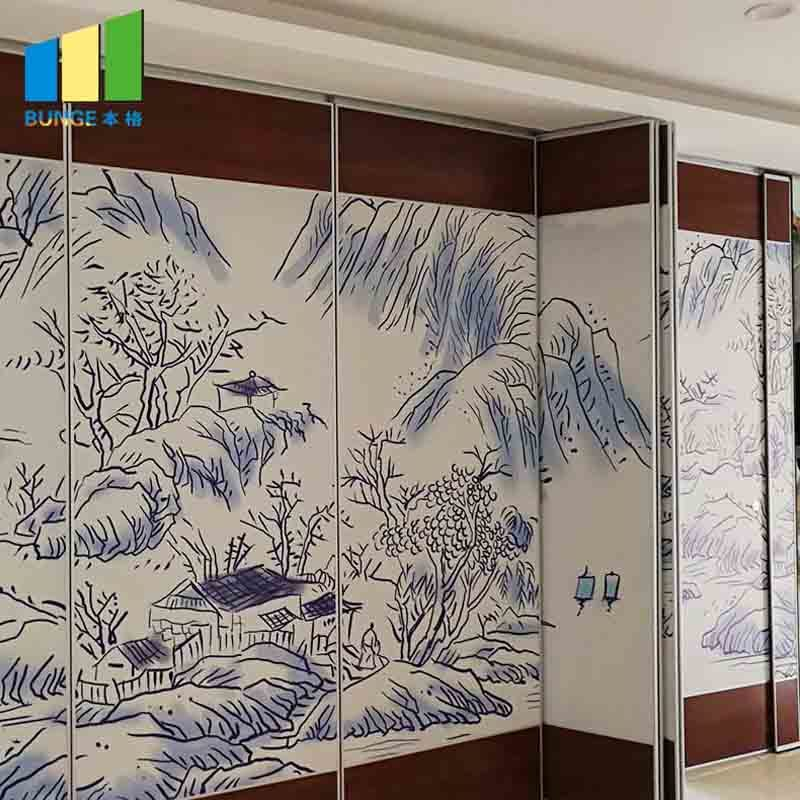 MovableAcoustic Sliding Folding Operable Partitions Wall