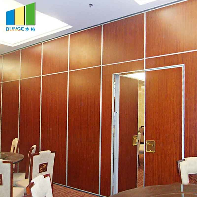 Sound Proof Moveable Doors/Acoustic Sliding Folding Partitions