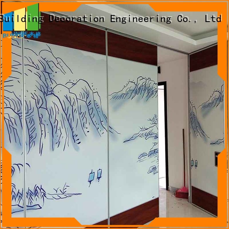 Hot folding wall conference Bunge Brand