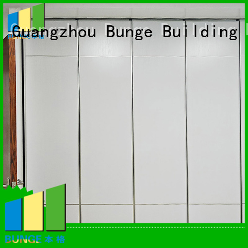 sound soundproof partition wall material aluminum decorative Bunge company