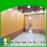 Bunge Brand track hotel folding wall banquet factory