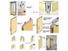 Bunge Brand exhibition door walls folding wall
