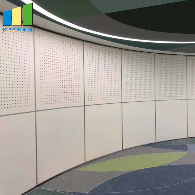 Interior Mobile Operable Sliding Sound Proofing Partitions