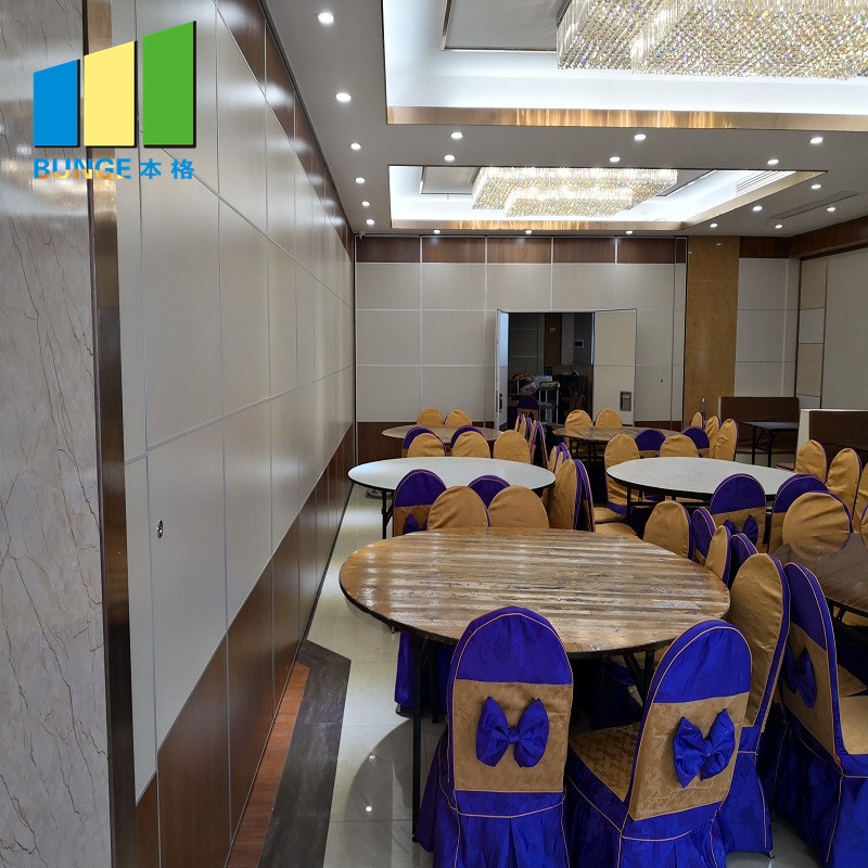 partitions Custom wooden proofing sliding room dividers Bunge decorative