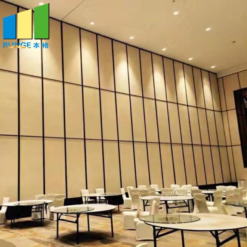 Multi-Purpose Hall Decorative Acoustic Operable Partition Walls