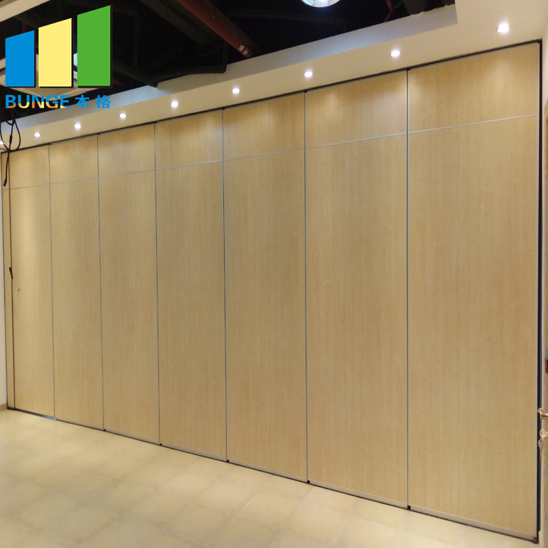 Bunge-Moveable Walls, Retractable Acoustic Folding Partition Walls For Conference Room
