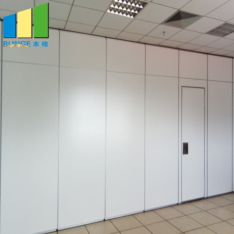 Retractable Acoustic Folding Partition Walls for Conference Room