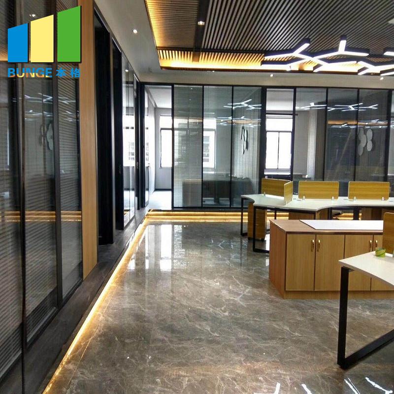 Bunge-Professional Frameless Glass Wall Internal Glass Partition Supplier