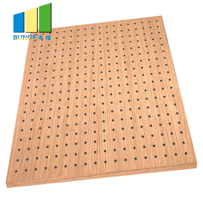 Bunge-Best Acoustic Soundproofing Panels 12 Mm Mdf Acoustic Ceiling And Wall-1