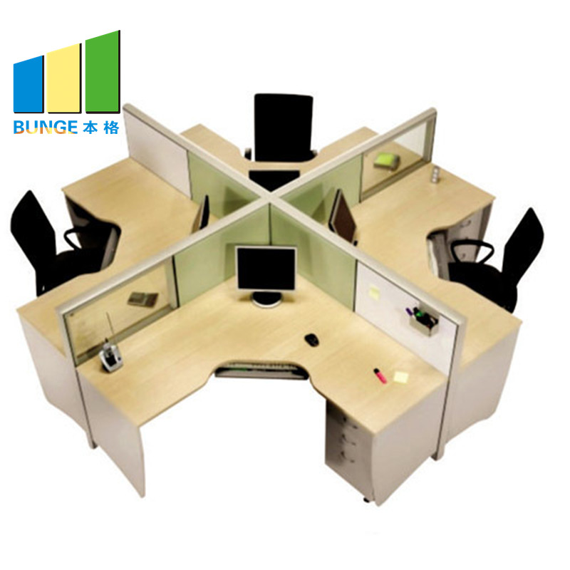 Bunge-Office Furniture Sets Manufacture | 4-8 Person Modular Office Face To Face-1
