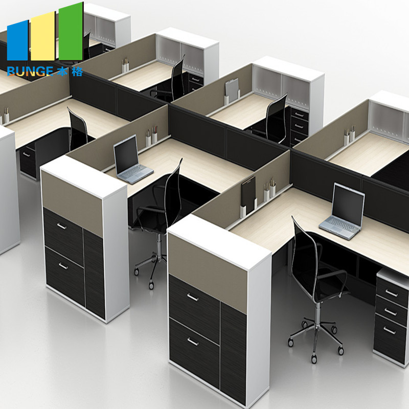 Factory Direct Sell Office Partitions OEM Modular Office Cubicles Workstations Furniture