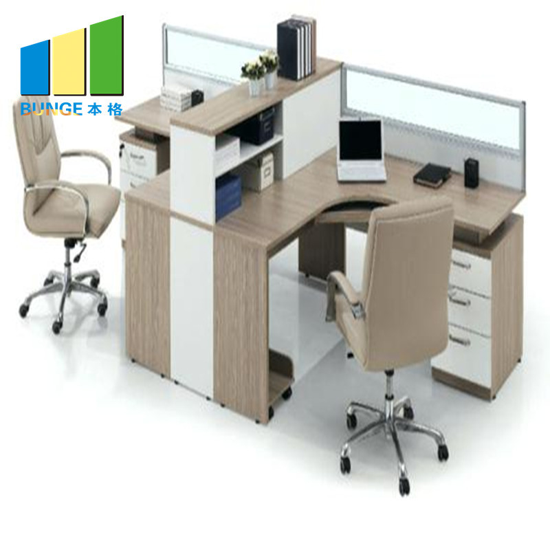 New Modern Metal Frame Modular Furniture 2-6 Person Office Workstation