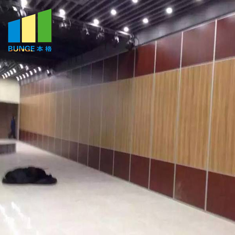 Ceiling Track Room Dividers Soundproof Folding Operable Partition Walls